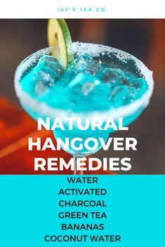 Hangover Remedies, Banana Coconut, Coconut Water, Drinking Tea, Herbs, Herb, Medicinal Plants