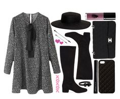 street style by sisaez on Polyvore featuring moda, Yves Saint Laurent, Chanel, Forever 21, Ashiana, The Case Factory, VIVETTA, Rouge Bunny Rouge and Antonym