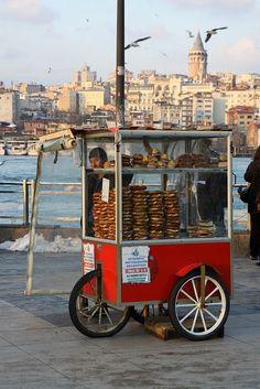 İstanbul da simit Bayii