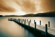 Wooden Landing Jetty-Color Print at AllPosters.com