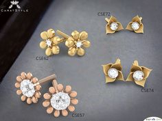 More ways to be you with diamond earrings. Explore! CSE72 ~ http://goo.gl/OtEyQv CSE62 ~ https://goo.gl/ltFEmp CSE74 ~ https://goo.gl/YrxNGg CSE57 ~ https://goo.gl/LLC5L6 #diamondearrings #diamondstuds #goldearrings #indianstreetfashion #style #stylis #haveanicesunday #trends #shopping #fashiondaily #india