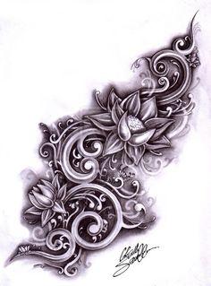 Lotus flower #tattoo