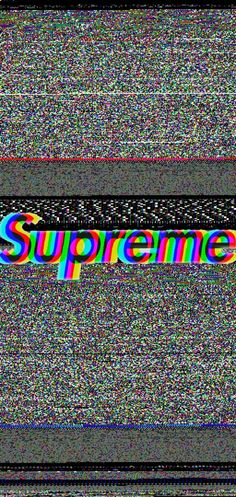 Wallpaper supreme
