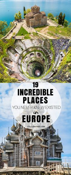 19 Incredible Places You Never Knew Existed in Europe bucket list d. - 19 Incredible Places You Never Knew Existed in Europe bucket list destination - Bucket List Europe, Bucket List Destinations, Europe Destinations, Europe Travel Tips, European Travel, Travel Usa, Places To Travel, Places To Visit, Travel Hacks