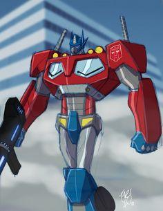 Optimus Prime Sketch by EricGuzman.deviantart.com on @deviantART
