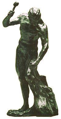 """""""Tudo que o homem não conhece não existe para ele. Por isso o mundo tem, para cada um, o tamanho que abrange o seu conhecimento.""""  (Carlos Bernardo González Pecotche)    Homem esculpindo-se a si mesmo, do artista uruguaio Yandí Luzardo, inspirada no princípio da evolução consciente proposto pela Logosofia."""
