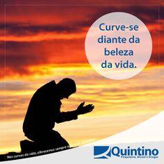 Respeita a vida. Ame-a. Vibre com ela. Dobre-se diante de tanta beleza. www.clinicaquintino.com.br