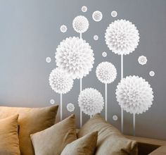 #wallstickers with #flowers by #tenstickersportugal
