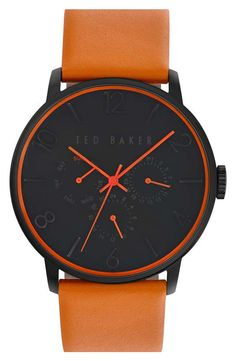 Ted Baker London Multifunction Watch, 42mm