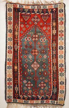 Kelim, Anatolien, um 1900, Zustand B, 163 x 100cm