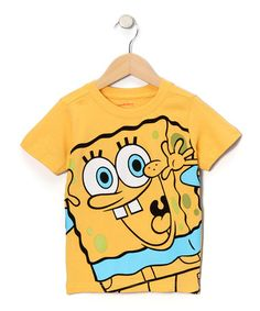 This Yellow & Blue SpongeBob Tee - Infant is perfect! #zulilyfinds