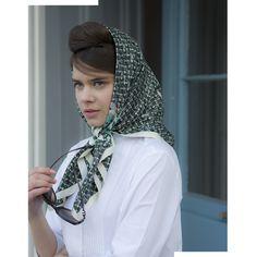 Ada Rose | Floral silk scarf designed by Lisa Levis (nee Stickley). Edith is a classic Ada Rose 100% silk scarf. | Scarf