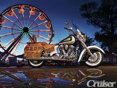 Indian Motorcycle Chief Vintage Limited Edition | Hail to the Chief | Between the Lines | Motorcycle Cruiser