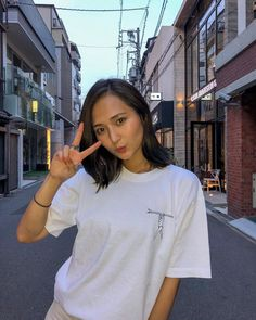Beauty Art, Korean Women, Asian Beauty, Beautiful Women, Kawaii, T Shirts For Women, Stylish, Lady, Womens Fashion