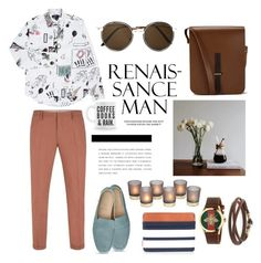 """""""First time trying to make a menswear set. It's really hard. """" by anmabel on Polyvore featuring Paul Smith, Gucci, Caputo & Co., Herschel Supply Co., The Cambridge Satchel Company, Cutler and Gross, men's fashion and menswear"""