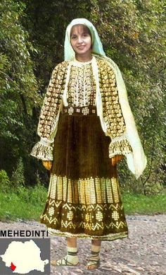mehedinti 1980 Traditional Outfits, Victorian, Costumes, Blouse, Folklore, Clothes, Europe, Dresses, Popular