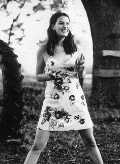 Liv Tyler just a country girl at heart. This dress reminds me of charlottes dresses in revenge!