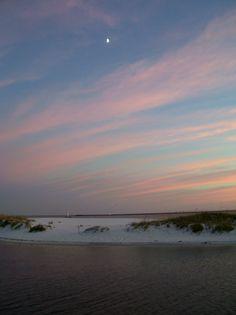 Atlantic Sand and Sunset
