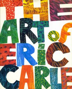 A link to a blog dedicated to children's book design featuring a post about Eric Carle