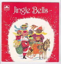 Jingle Bells Little Golden Book Christmas von AnemoneReadsVintage