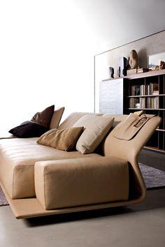 Spanish Designer Patricia Urquiola | Night & Day Sofa, Chaise & Single Bed for Moltenic