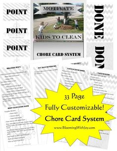 Through February 4, download this free Chore Card System. This Chore Card system is a new philosophy for busy moms to ease the unattainable pressure of perfection. It includes: Encouragement for Mom How to Motivate the Kids Using Point System …