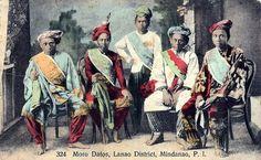 Moro Datus of Lanao
