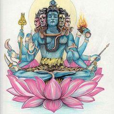 My mind and heart. Arte Shiva, Shiva Hindu, Shiva Art, Hindu Deities, Hindu Art, Ganesha Art, Krishna, Photos Of Lord Shiva, Lord Shiva Hd Images