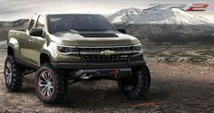 Continuing the #ZR2 legacy.  The ZR2 nameplate is special in the #Chevrolet lineup. The three characters adorned the S-10 and Blazer models in the mid-1990s and early 2000s, and gave them added all-terrain performance. With the introduction of the new Colorado, Chevrolet is looking to bring the name back with the ZR2 Concept.