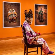 Disguise is going on tour, next stop the Fowler Museum at UCLA, show opens October 18, looking forward to check it out!  Installation view of Disguise: Masks and Global African Art at the Seattle Art Museum featuring Jack Bell Gallery artist Leonce Raphael Agbodjelou. © Seattle Art Museum, Photo: Nathaniel Willson  @seattleartmuseum