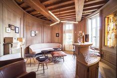 the 'cognatèque' Conference Room, Interior Design, Table, Furniture, France, Home Decor, Nest Design, Decoration Home, Home Interior Design