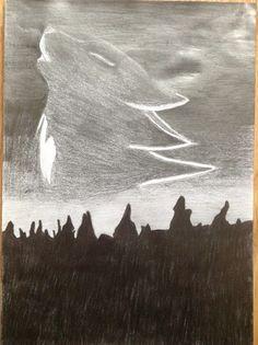 A piece of my art GCSE work ❤️