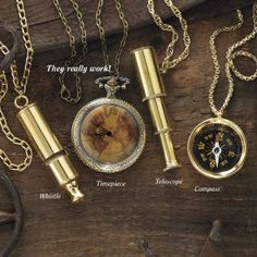 Steampunk Explorer Necklace - Women's Clothing & Symbolic Jewelry – Sexy, Fantasy, Romantic Fashions - Pyramid Collection Unique Clothes For Women, Steam Punk Jewelry, Steampunk Design, Steampunk Fashion, Steampunk Accessories, Steampunk Wedding, Long Chain Necklace, Unique Necklaces, Gothic Necklaces