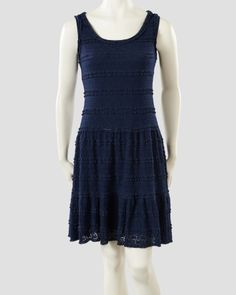 Lace Fit & Flare Sleeveless Dress, Main View