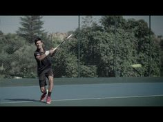 Performance meets personality with Novak Tennis Videos, Adidas Barricade, Sport Tennis, Great Videos, Tennis Players, Personality, Commercial, Tours, World