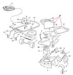 Mountfield 514PD Spares Parts Diagrams 514 PD 2009