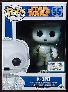 Funko Pop Star Wars White K3PO - Barnes & Noble Exclusive - Unopened (RARE)