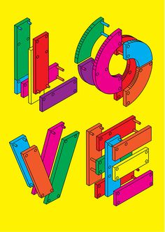 WORDPLAY POSTERS on Typography Served
