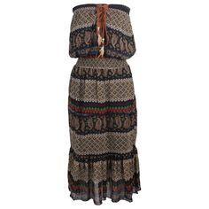 Angie Women's Strapless Maxi dress