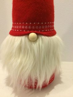 Tomte Tomtenisse Nisse Tomtar Swedish Gnome by TearingSeamsApart