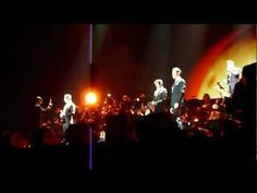 II DIVO Unchained Melody (Seb forgets his words) @ Sheffield Arena 07.04.12 HD