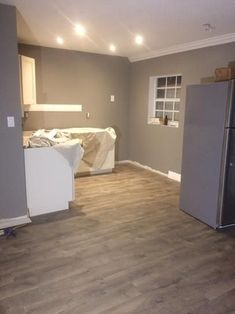 Pergo XP Southern Grey Oak 10 mm Thick x in. Wide x in. / case) at The Home Depot - Mobile Flooring Oak Laminate Flooring, Basement Flooring, Basement Remodeling, Hardwood Floors, Plywood Floors, Plywood Furniture, Home Depot Flooring, Penny Flooring, Furniture Design