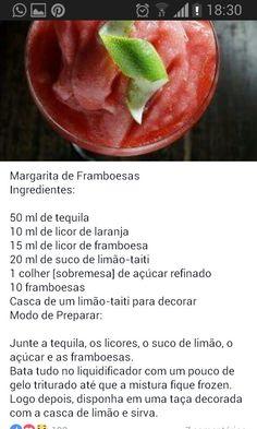 Margarita framboesa