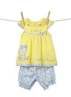 Baby Girls Tatty Teddy® Top and Bloomer Set