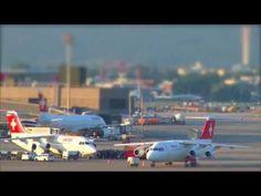 Flughafen Zürich: Zeitraffer-Video von Swiss Airlines