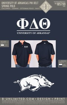 Phi Delta Theta Polo | Fraternity Event | Greek Event #phideltatheta #phidelt #razorbacks Phi Delta Theta, University Of Arkansas, Flannels, Design, Style, Swag, Flannel, Outfits