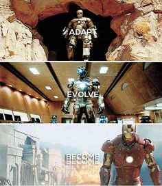 The story of Tony Stark.