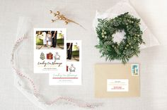 counting our blessings :: holiday photo card by little bit heart #holidaycards #holiday #christmascards