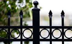 Because aluminum fences are powder coated, they'll never rust, chip or fade, making them a popular choice for pool fencing and properties on the coast. They look great in any sized yard, and provide security and containment without losing out on a beautiful view Aluminum Fence, Pool Fence, Mossy Oak, Fence Design, Fencing, Rust, Looks Great, Powder, Yard