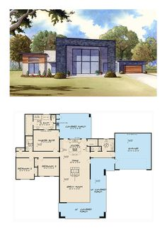 Appealing icf house plans with large lawn stunning for for Icf house plans modern
